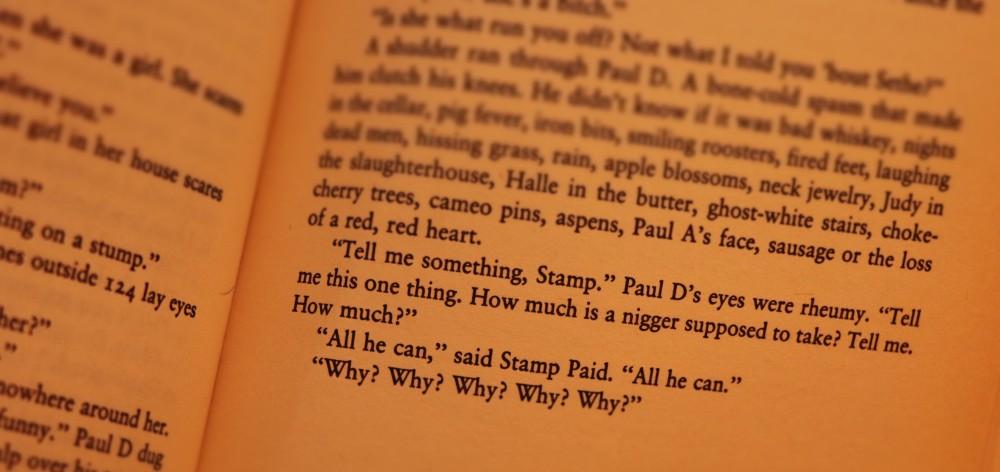 Beloved by Toni Morrison, booked for 100, #bookedfor100, #tonimorrision #beloved #blogaboutbooks